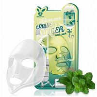 Elizavecca Маска тканевая для лица с центеллой - Centella asiatica deep power ring mask pack, 23мл