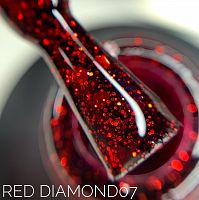 Sova De Luxe Red Diamond 07 гель-лак, 15мл.