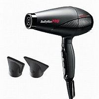 BaByliss PRO Фен ультралегкий BLACK STAR - ION 2200W